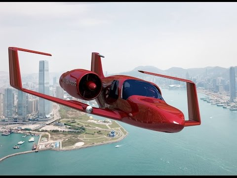 Top 5 Real Flying Cars That Actually Fly | Futuristic Flying Car