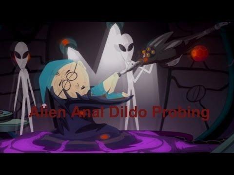 South Park: The Stick of Truth - Alien Anal Dildo Probing Cutscenes {UNCENSORED, Full 1080p HD}