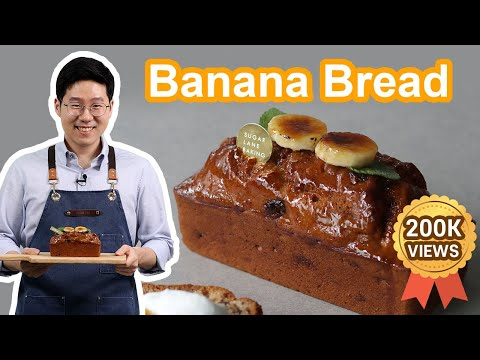Best Banana Bread Recipe | Moist & Tender with step-by-step instructions