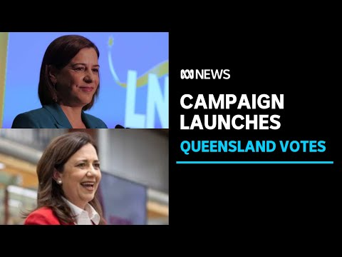 Queensland Labor and LNP formally launch election campaigns | ABC News