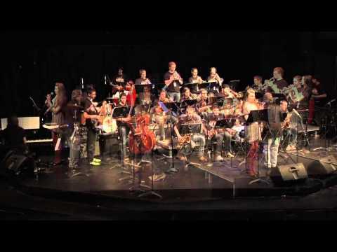 Anoka High School Jazz I @ McNally Smith's Winter Jazz Blast
