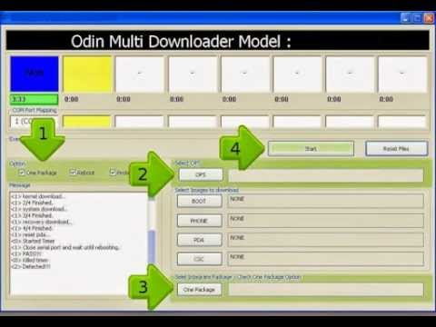 How to flash samsung i5500 using odin multi downloader 4. 28 free.