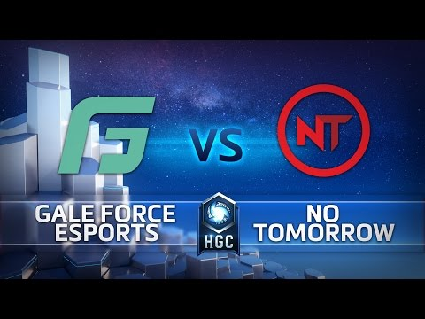 HGC NA - Phase 1 Part 2 - Game 1 - Gale Force eSports v No Tomorrow