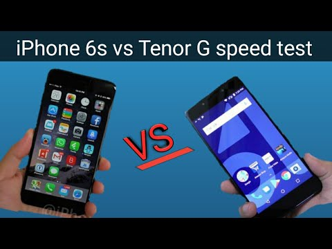 Iphone 6s Vs Tenor G!!!!??? Shocking Results!!??