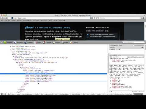 jQuery | Quick introduction thumbnail