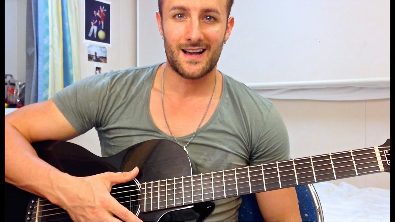 Guitar Tutorial Sorry Seems To Be The Hardest Word Pt 2 Youtube