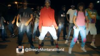 CHICAGO BOP MUSIC-BREEZY MONTANA-STRIKE A POSE DANCE VIDEO