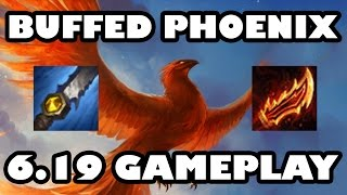 Phoenix Buffed! Attack Speed Udyr Jungle Gameplay [6.19]