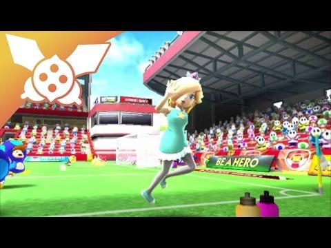 [Détente] Mario Sports Superstars #01 : Harmonie, joueuse de foot