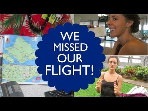WE MISSED OUR FLIGHT! // HAWAII VLOGS