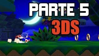 SONIC LOST WORLD 3DS - PARTE 5 [Me cago en el EMO!]