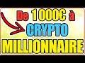 CHALLENGE CRYPTO ▶ De 1000€ à MILLIONNAIRE en 1 AN !