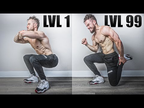 Squats From LvL 1 to LvL 100 (WHICH IS YOURS?)