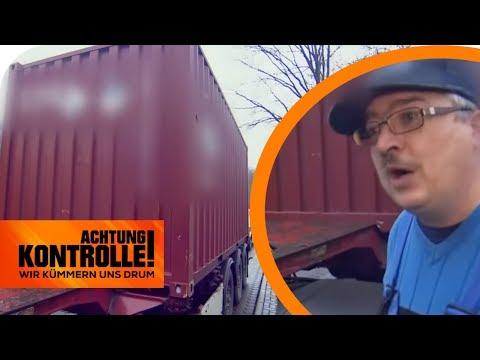 Polizeikontrolle: LKW-Fahrer weiß nicht was er geladen hat! | Achtung Kontrolle | kabel eins