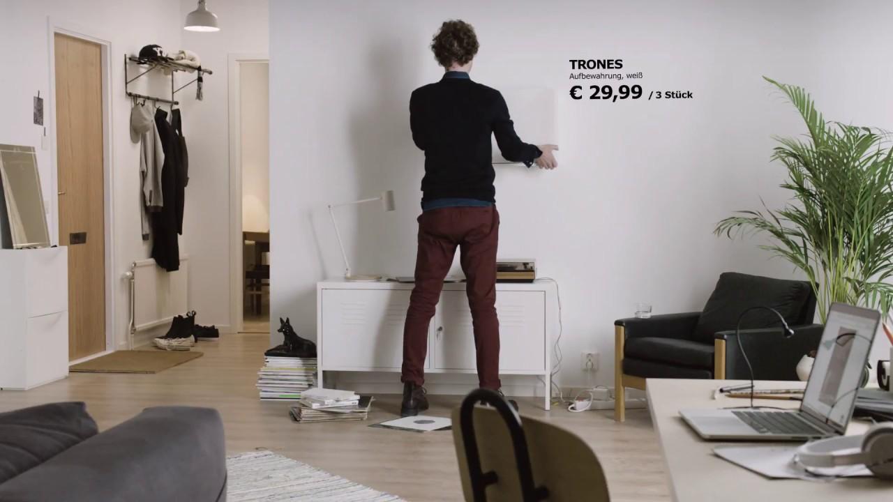ikea trones mehr als ein schuhregal youtube. Black Bedroom Furniture Sets. Home Design Ideas