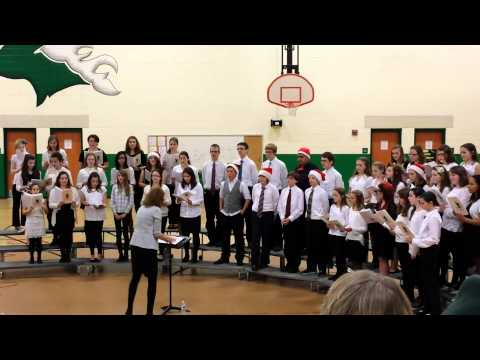 Massabesic middle school chorus