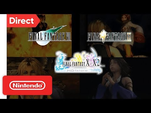 Final Fantasy is Coming to Nintendo Switch! | Nintendo Direct 9.13.2018