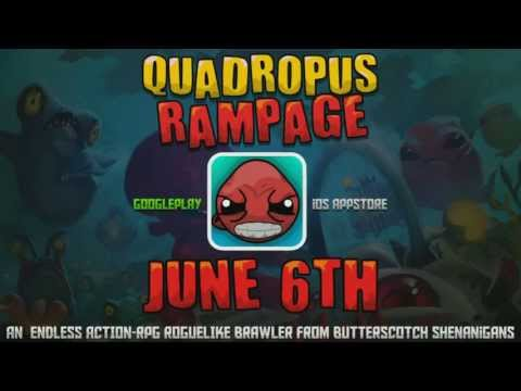 Quadropus Rampage Gameplay Trailer - OFFICIAL