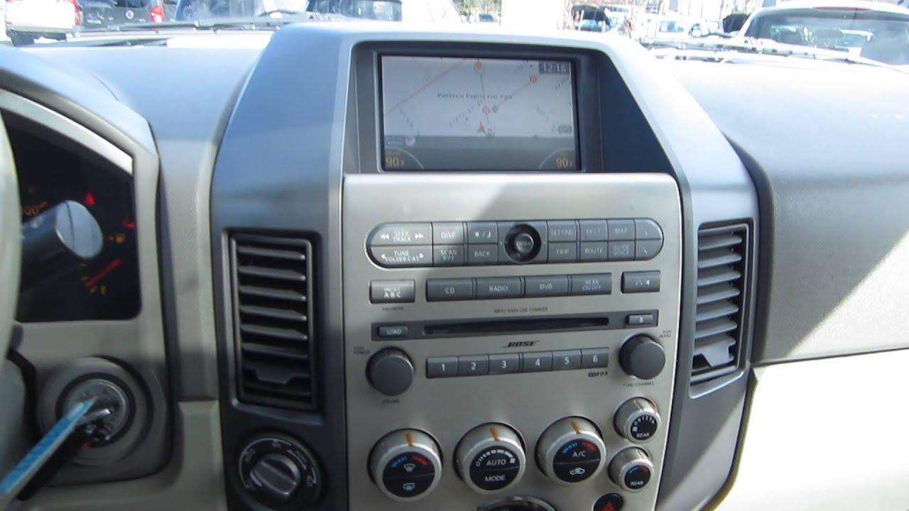 2006 infiniti qx56 white stock 140586a interior youtube 2006 infiniti qx56 white stock 140586a interior vanachro Images