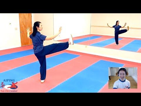 Balancing on One Leg in Tai Chi