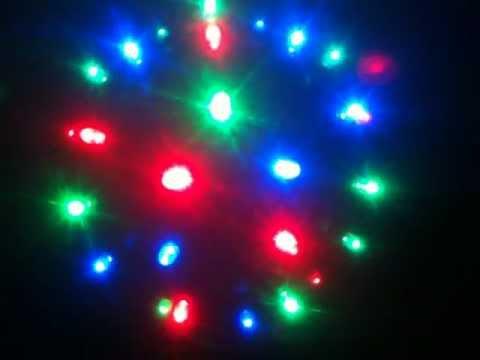Bola de discoteca de colores 46 led youtube - Bola de discoteca de colores ...