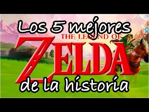 Los 5 Mejores Zelda de la historia