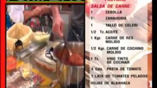 Receta Del Dia: Lasagna (pastichio)