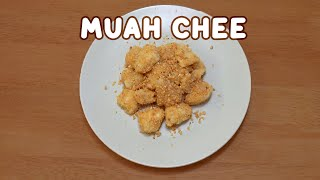 Easy Muah Chee Recipe: How to Make Muah Chee (Glutinous Rice Balls with Crushed Penauts & Sugar)