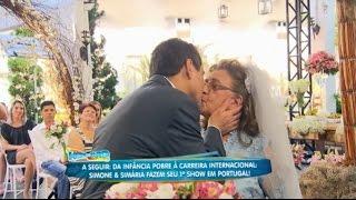 Homem de 31 anos e mulher de 89 ganham casamento dos sonhos