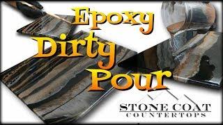 Epoxy Dirty Pour