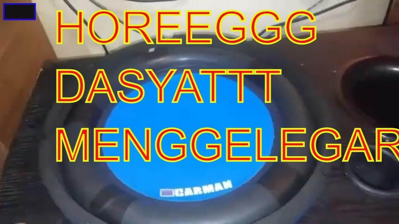 PUAS GA NYESEL Subwoofer TEST kit DMS 009 500 watt bisa sampe 800 watt?