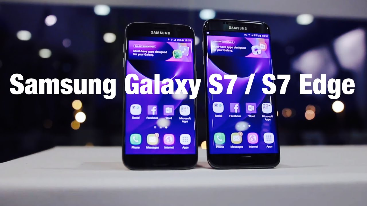samsung galaxy s7 s7 edge side by side comparison. Black Bedroom Furniture Sets. Home Design Ideas