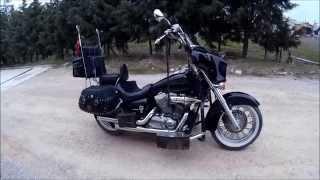 MOTORUM HONDA SHADOW VT750 C4 TANITIMIM , İNCELEMEM ...