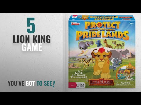 Top 10 Lion King Game [2018]: Disney The Lion Guard Protect the Pride Lands Game