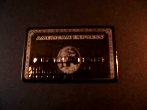 buy yves saint laurent - Replica AMERICAN EXPRESS BLACK CARD KIT - YouTube