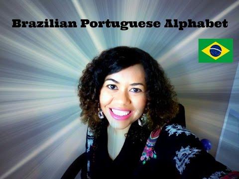 Brazilian Portuguese Lesson 1 -  Alphabet