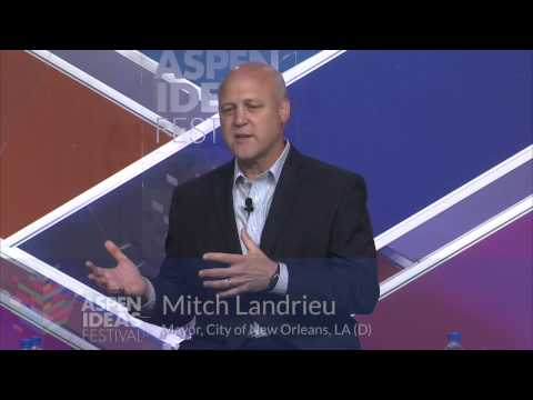 Mayor Mitch Landrieu on the Problem of Violence in Some New Orleans