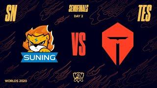 Game TV Schweiz - SN vs TES | Semifinal Game 2 | World Championship | Suning vs. Top Esports (2020)