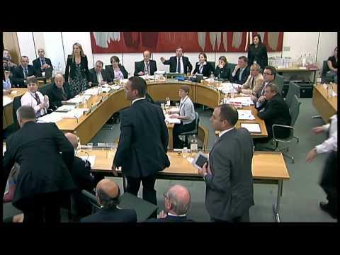 Wendi Deng protects Rupert Murdoch from pie