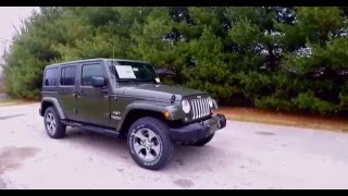 2016 Jeep Wrangler Unlimited Sahara 4x4 Interior And Exterior Car Review