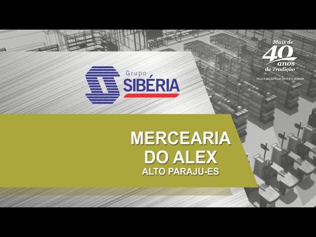 Loja Inaugurada - Mercearia do Alex - Alto Paraju/Domingos Martins - ES