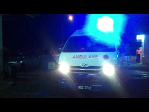Civil Defence Malaysia ambulance