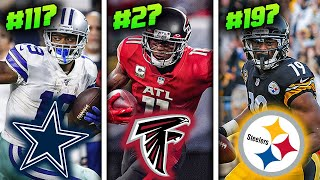 Ranking all 32 NFL Teams' Best Wide Receiver for 2020 from WORST to FIRST
