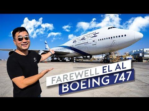 Farewell EL AL Boeing 747 (Part 1)