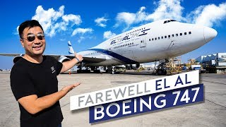 Farewell EL AL Boeing 747 (Part 1)