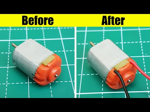 How to repair small DC Motor at home