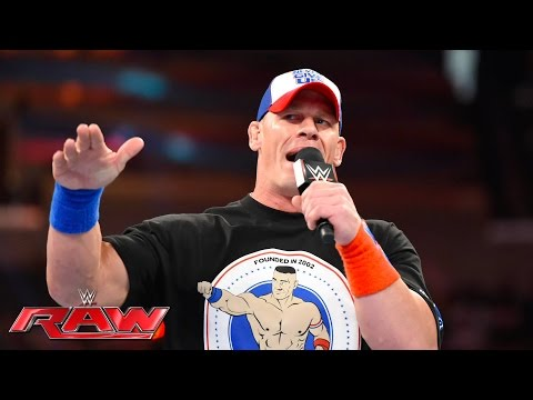 John Cena comments on his WrestleMania-worthy dream match against AJ Styles: Raw, June 6, 2016