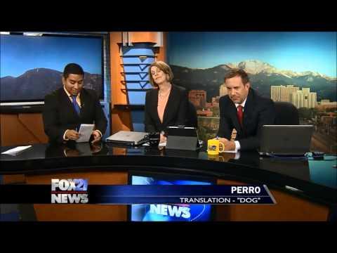 FOX21 News Spanish pronunciation test