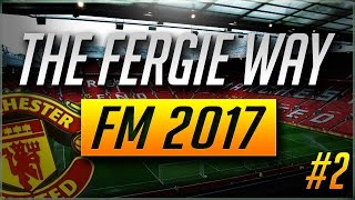 The Fergie Way   Manchester United   FM 2017  Episode 2   Bringing back the 442