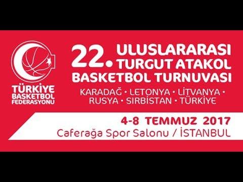 Türkiye - Karadağ (Turkey - Montenegro) | Turgut Atakol Turnuvası